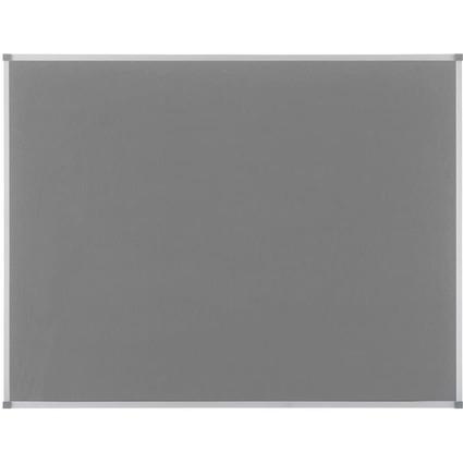 nobo Filztafel Classic, grau, Maße: (B)1.200 x (H)900 mm