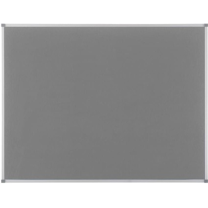 nobo Filztafel Classic, grau, Maße: (B)900 x (H)600 mm