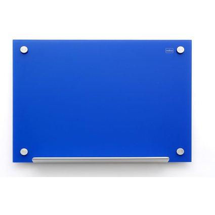 nobo Glas-Magnettafel Diamond, (B)1.800 x (H)1.200 mm, blau