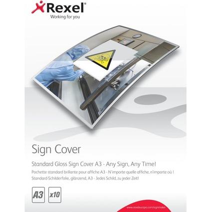 Rexel Schilderfolie SignCover, DIN A3, glänzend
