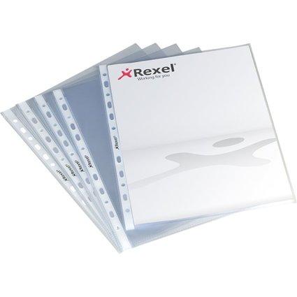 REXEL Prospekthülle Standard, A4, PP, genarbt, 0,08 mm