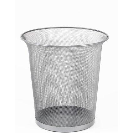 Rexel Papierkorb, aus Drahtmetall, 15 Liter, chrom