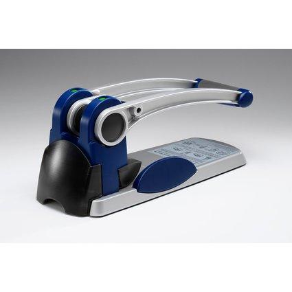 Rexel Registraturlocher HD2300X, blau/silber/schwarz