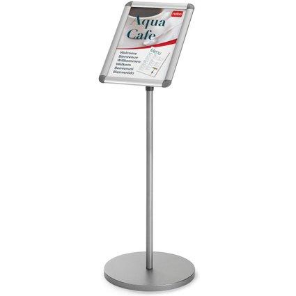 nobo Infoständer DIN A3, Maße: (B)350 x (T)70 x (H)1.010 mm