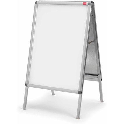 nobo Plakatständer A2, hochwertiger Aluminium-Rahmen