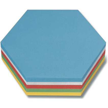 nobo Moderationskarte Rhomben, 130 g/qm, 95 x 205 mm