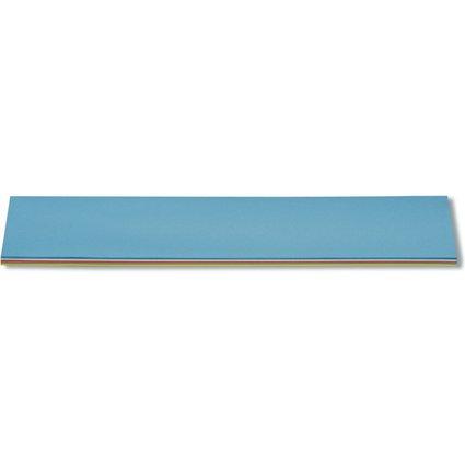 nobo Moderationskarte Streifen, 130 g/qm, 500 x 95 mm