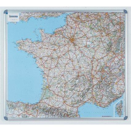 nobo Straßenkarte Frankreich, magnethaftend