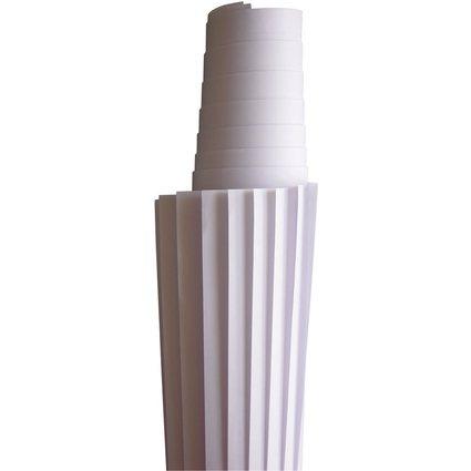 nobo Moderationspapier, 80 g/qm, 1180 x 1400 mm, weiß