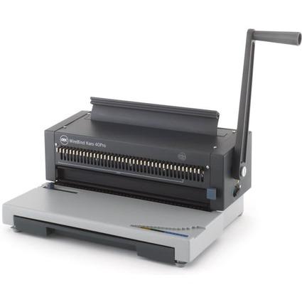 GBC Drahtbindegerät WireBind Karo 40Pro, grau/anthrazit