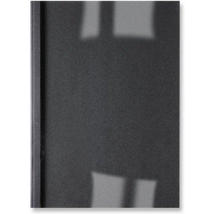GBC Thermobindemappe ThermaBind Leinen, A4, 6 mm, schwarz