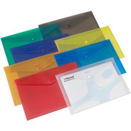 Rexel Dokumententasche Folder, DIN A4, sortiert
