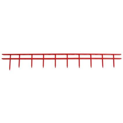 GBC Bindestreifen/Bindekamm SureBind, DIN A4, 25 mm, rot