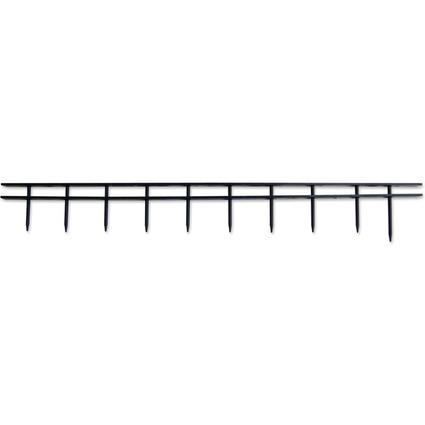 GBC Bindestreifen/Bindekamm SureBind, DIN A4, 50 mm, schwarz