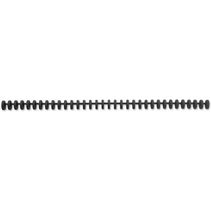 GBC Plastikbinderücken ClickBind, DIN A4, 16 mm, schwarz