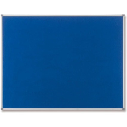 nobo Filztafel Classic, blau, Maße: (B)1.800 x (H)1.200 mm