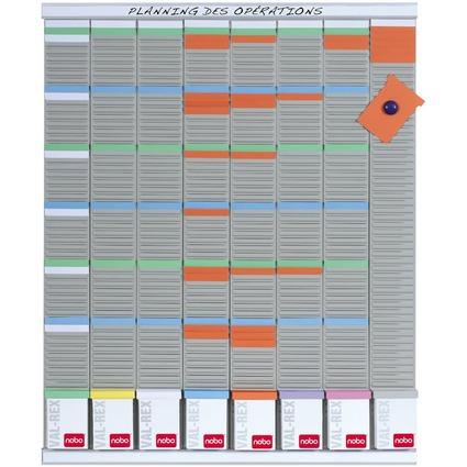 nobo kit planing en français / tableau T-cartes, 8