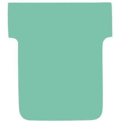 nobo T-Karten, Größe 1 / 28 mm, 170 g/qm, grün