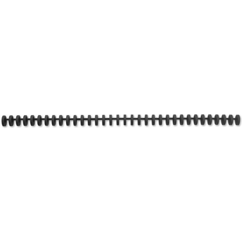 16 mm DIN A4 GBC Plastikbinderücken ClickBind schwarz