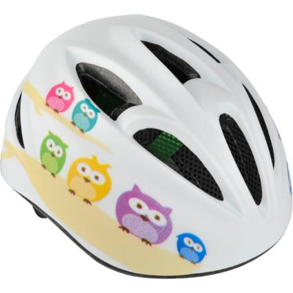 """FISCHER Kinder-Fahrrad-Helm """"Eule"""", Größe: S/M"""