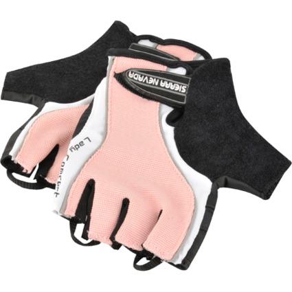 """FISCHER Fahrrad-Handschuhe """"Lady"""", Größe: L/XL, rosa/schwarz"""