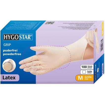 "franz mensch Latex-Handschuh ""GRIP"" HYGOSTAR, XL, weiß"
