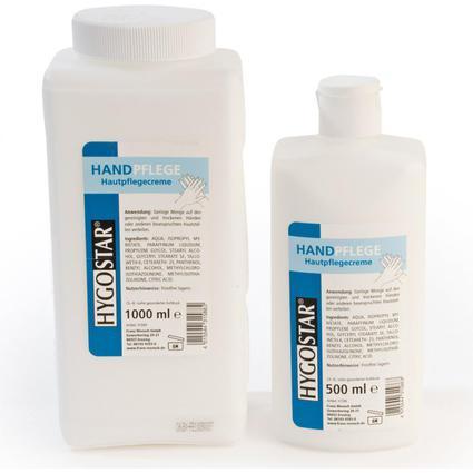 franz mensch Handcreme HYGOSTAR, 500 ml, Flasche