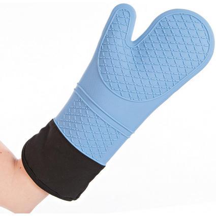 """franz mensch Silikon-Handschuh """"HEATTEC"""" HYGOSTAR, hellblau"""