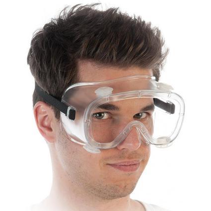 franz mensch Antibeschlag-Vollsichtschutzbrille HYGOSTAR