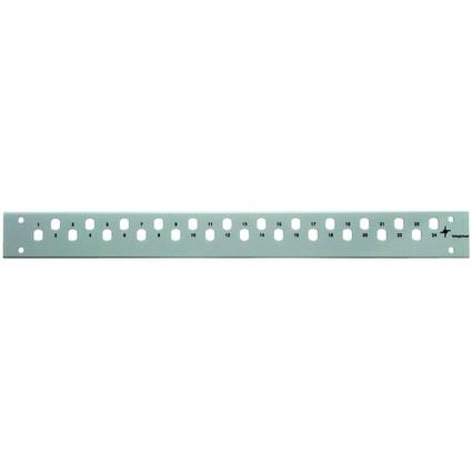 "Telegärtner 19"" LWL Patch Panel Frontplatte, für 24xLC"
