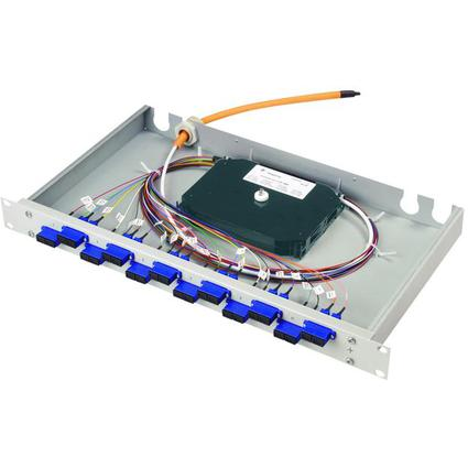 "Telegärtner 19"" LWL Patch Panel Basis eco mit 24 x ST"