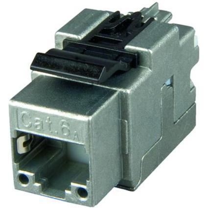 Telegärtner AMJ45 Modul Kat.6A(tief) geschirmt, T568A