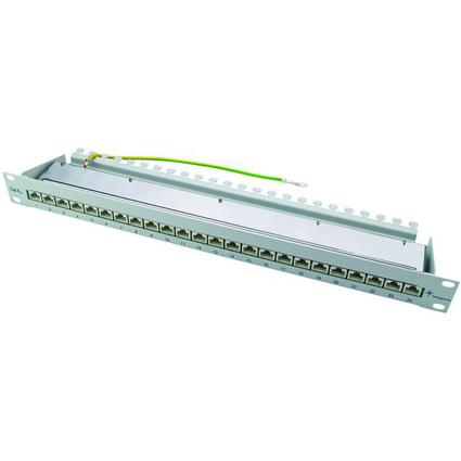 "Telegärtner 19"" Patch Panel, Kat.6A, 24 x RJ45, ungeschirmt"