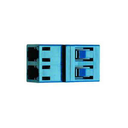 Telegärtner LWL Kupplung 2xLC-Duplex, Multi- und Singlemode