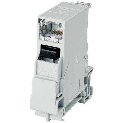 Telegärtner STX Tragschienen Verbinder inkl. RJ45 Modul B