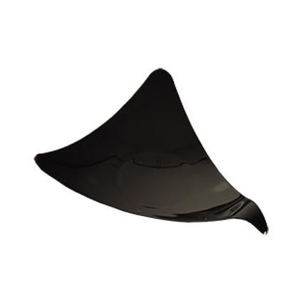 PAPSTAR Fingerfood-Dreieckschalen, 77 x 95 x 95 mm, schwarz