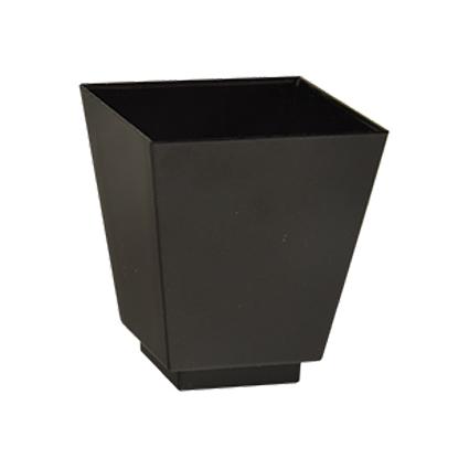 PAPSTAR Fingerfood-Schale eckig, 50 x 45 x 45 mm, schwarz