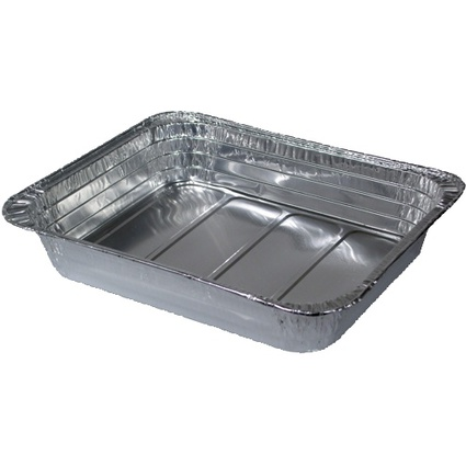 PAPSTAR Aluminium-Gastronorm-Behälter, eckig