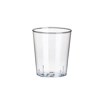 PAPSTAR Kunststoff-Schnapsglas, 2 cl, glasklar