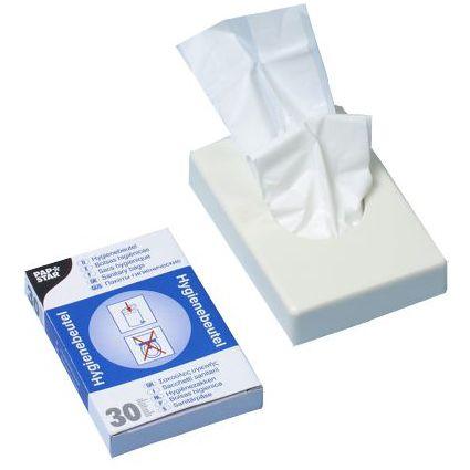 PAPSTAR Hygienebeutelspender, Kunststoff, weiß