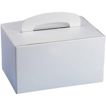 PAPSTAR Lunch-Box eckig, mit Tragegriff