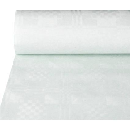 PAPSTAR Damast-Tischtuch, Rolle, 25 x 1 m, weiß