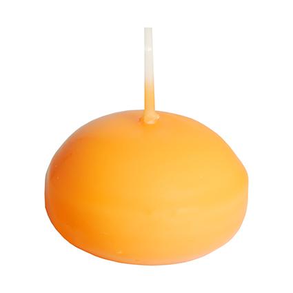 PAPSTAR Schwimmkerzen, Durchmesser: 45 mm, orange
