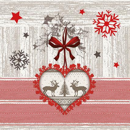 """PAPSTAR Weihnachts-Motivservietten """"X-mas Highlight"""""""