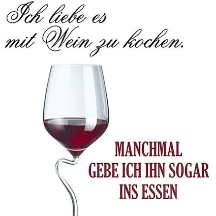 """PAPSTAR Sprüche-Servietten """"Kochen mit Wein"""""""