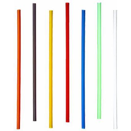 PAPSTAR Shake-Trinkhalme, Länge: 250 mm, farbig sortiert