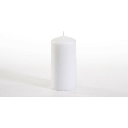PAPSTAR Stumpenkerze, 50 mm, weiß