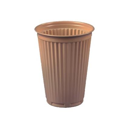 PAPSTAR Kunststoff-Thermobecher, 0,18 l, beige