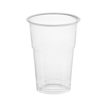"PAPSTAR Kunststoff-Trinkbecher ""Hurricane"", PET, 0,25 l"