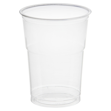 "PAPSTAR Kunststoff-Trinkbecher ""Hurricane"", PET, 0,4 l"